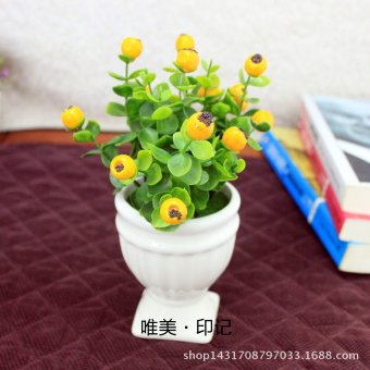 1 Piece Artificial Plant Fake Flower for Decoration(Multicolor) - intl