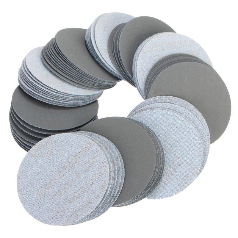 100pcs 3inch(75mm) 3000Grit Sander Disc Sanding Polishing Pad Sandpaper - intl