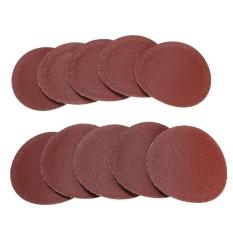 10x 50mm 2inch Sanding Discs Sandpaper 240 Grit - intl