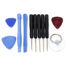 11 In 1 Universal Smart Phone Repair Easy Opening Tool Kit Set Pry Screwdriver - intl
