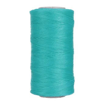 1.2mm 210D Leather Sewing Coarse Waxed Thread Craft Wax Hand Stitching Cord 200M Turquoise - intl