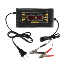 12V 6A Full Automatic Smart Fast Battery Charger For Car/ Motorcycle EUPlug - intl