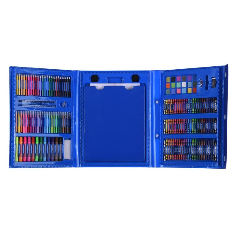 Mua 174pcs Deluxe Art Set for Kids with Case Color Markers Pencils Crayons Oil Pastels Watercolor Painting Supplies - intl