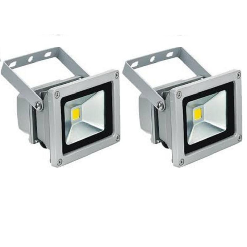 Bảng giá Mua 2 Đèn pha LED 20W siêu sáng tiết kiệm điện (Ánh sáng trắng)