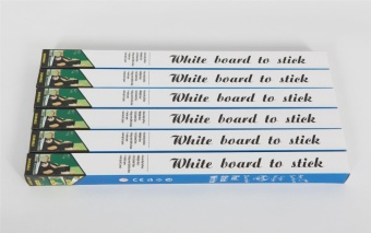 2 pcs removable rewritable environmental protection blackboard whiteboard affixed stickers posted specifications 45*200cm - intl