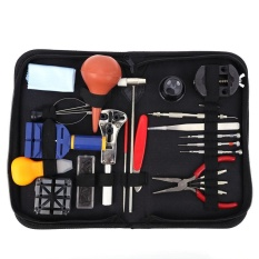 22pcs Watch Repair Tool Kit Opener Spring Bar Tool Set Watch Link Remover - intl