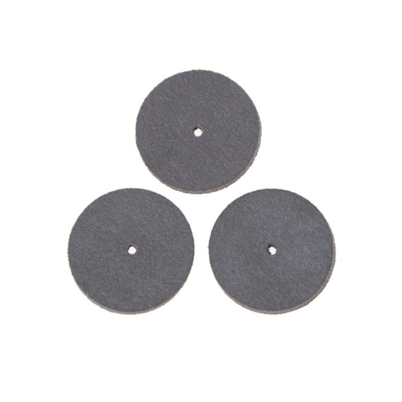 3 Pcs 22 X 3 Mm Rubber Polish Wheel Rotary Power Tools Grinding Wheel - intl