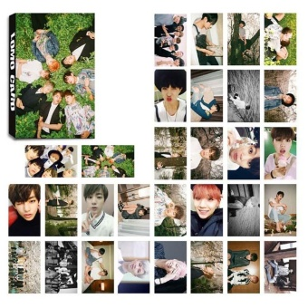 30pcs Set KPOP Personal LOMO Cards BTS BANGTAN BOYS Photo Picture Poster H01 - intl