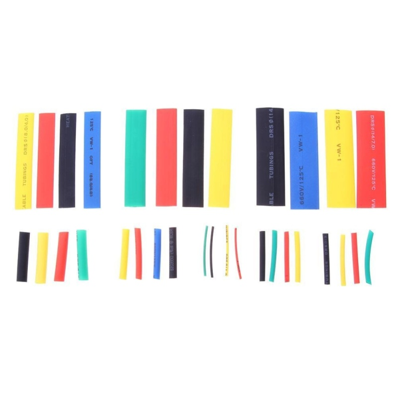 Bảng giá 328pcs Cable Sleeve Insulated Heat Shrink Tubing Wrap Wire Set - intl