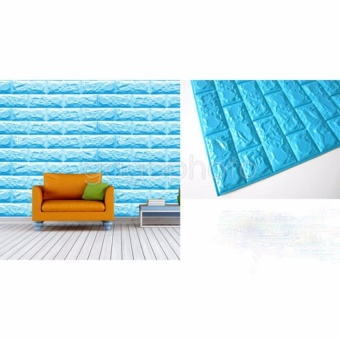 3D ADHESIVE WALL STICKERS BRICKS - intl
