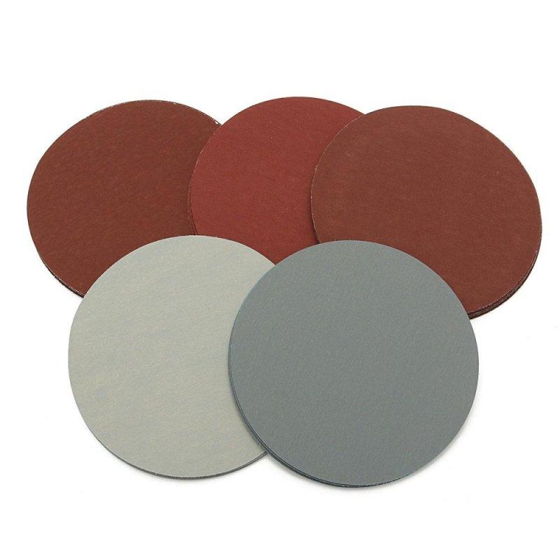 3Set 25X 5 Round Grit 1000 1500 2000 2500 3000 Sanding Discs Hook Loop Sandpaper - intl