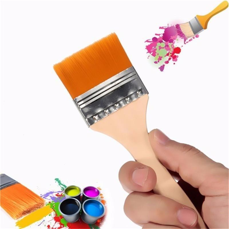 Mua 4 Nylon Painting Brush Artists Acrylic Oil Paint Varnish Tool Art Supply New - intl