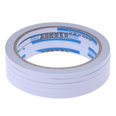 5pcs Office Home Use Supply Transparent Double-Sided Adhesive Tape - intl