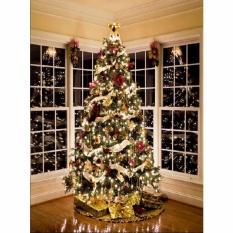 Giảm Giá 5x7FT Newborn Twinkling Christmas Tree Backgrounds Studio Photography Backdrops  Freebang