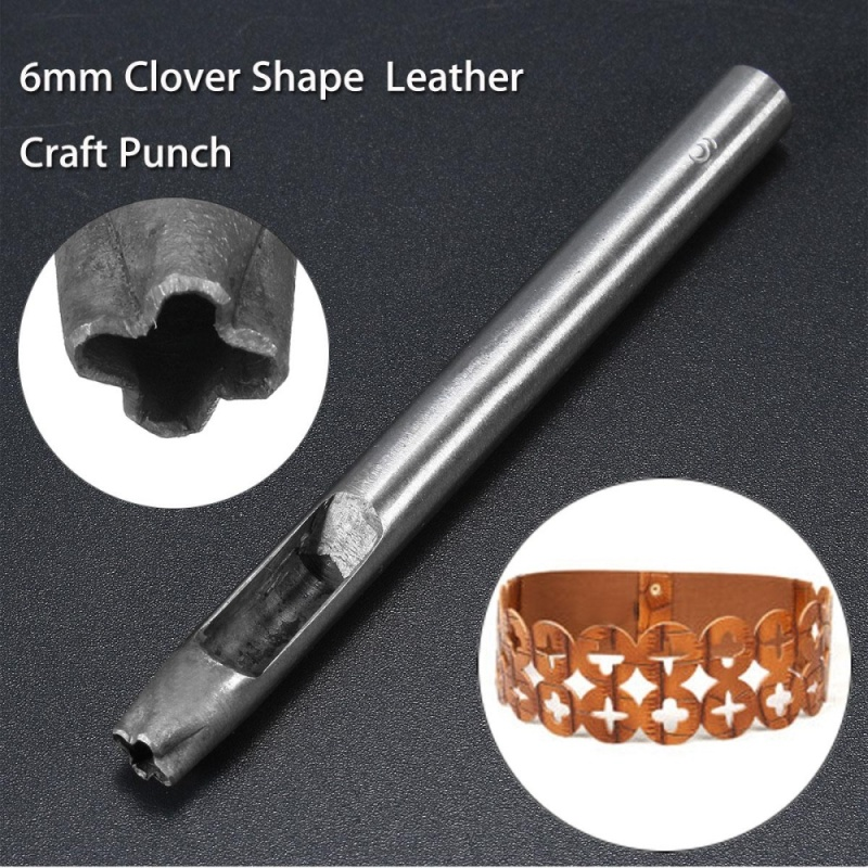 Mua 6mm cross flower DIY leather leather punch punch punch punch Leather Craft Punch - intl