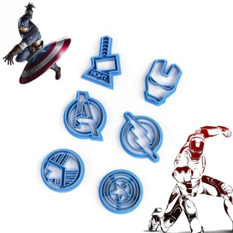 6Pcs/set The Avengers Captain America Shape Fondant Cake Mold MakerMould - intl - 8519089 , OE680HLAA647ZRVNAMZ-11259160 , 224_OE680HLAA647ZRVNAMZ-11259160 , 342000 , 6Pcs-set-The-Avengers-Captain-America-Shape-Fondant-Cake-Mold-MakerMould-intl-224_OE680HLAA647ZRVNAMZ-11259160 , lazada.vn , 6Pcs/set The Avengers Captain America Shape F