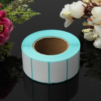 800 Sheet 30x20mm Printing Paper Barcodes Thermal Self-adhesive Cable Labels - intl