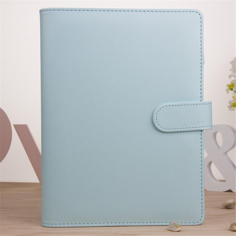 Mua A5 Classic Weekly Monthly Planner Diary Loose-Leaf-Ring-Binder Notebook Cover # Blue