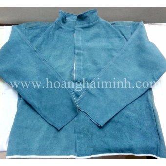 Áo da cho thợ hàn(Aqua)