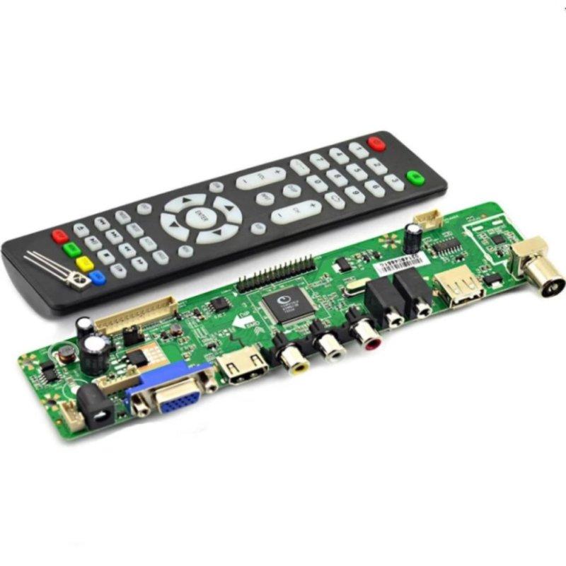 Bảng giá Mua Bảng mạch điều khiển TV LCD V56 Geekcreit® giao thức PC/VGA/HDMI/USB - Quốc tế