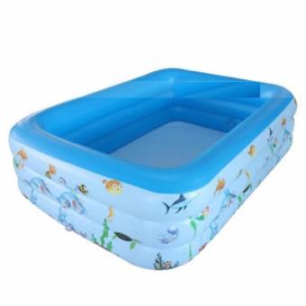 Bể bơi 3 tầng 130x85x55cm - 8504458 , OE680HLAA3SQLFVNAMZ-6786528 , 224_OE680HLAA3SQLFVNAMZ-6786528 , 510000 , Be-boi-3-tang-130x85x55cm-224_OE680HLAA3SQLFVNAMZ-6786528 , lazada.vn , Bể bơi 3 tầng 130x85x55cm