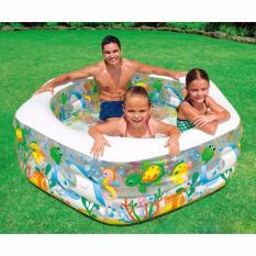 Bể bơi phao Babimart mini Intex cho bé BB56493
