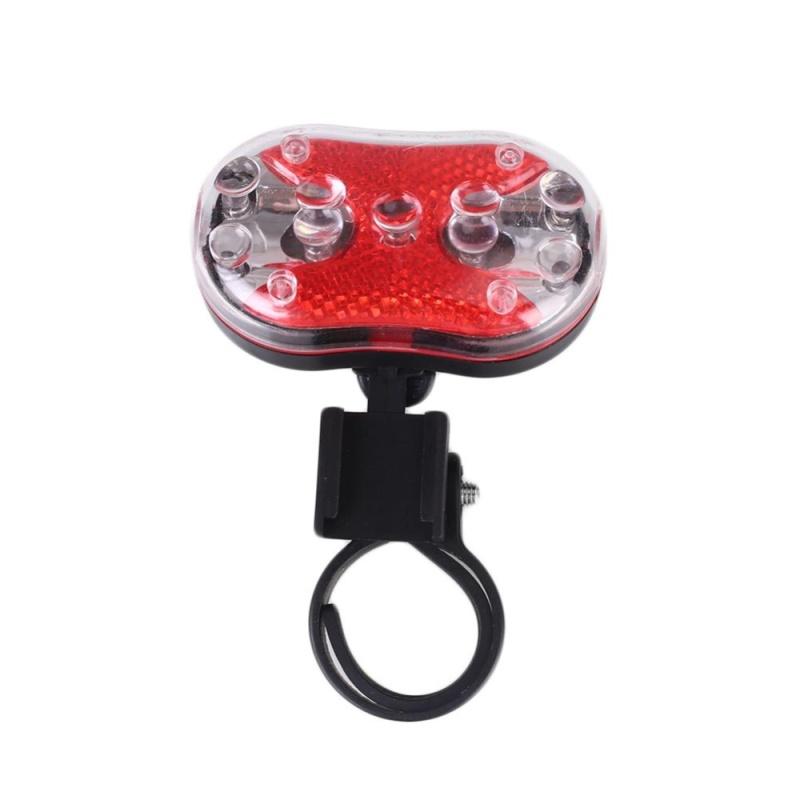Bảng giá Mua Bestprice-Insten 9 LED Beam Mountain Bike Headlight Front Rear Tail Safety Light - intl
