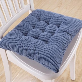 Big Seat Cushion Niblet Thicken Soft Square Comfortable Chair Pad - intl