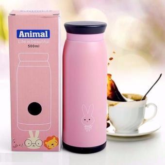 Bình Giữ Nhiệt Animal Cao Cấp Giá Rẻ 500ml (Hình ngẫu nhiên)