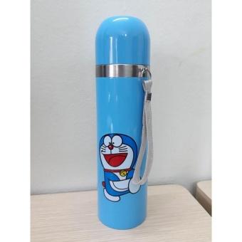 Bình nước giữ nhiệt 2 lớp (Xanh) giá rẻ nhất.