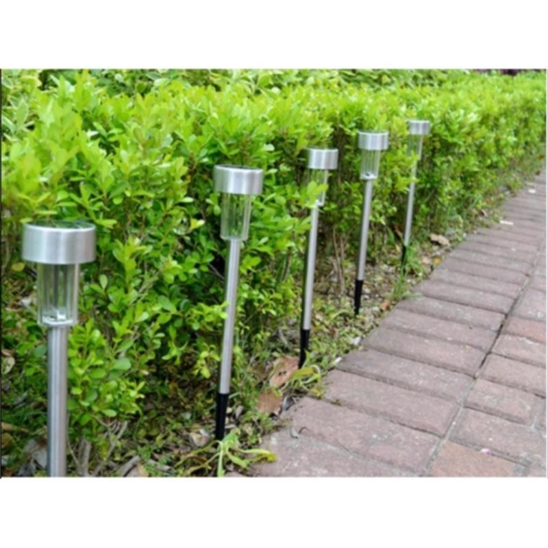 Bảng giá Mua Bộ 10 đèn trang trí sân vườn sử dụng năng lượng mặt trời (ánh sáng Vàng)