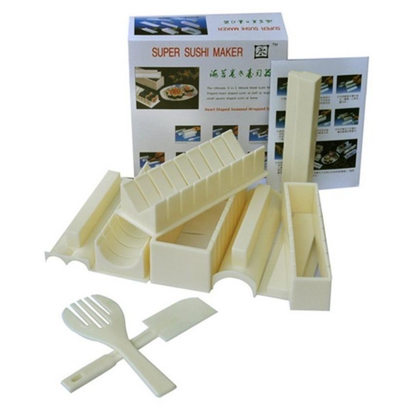 Bộ 10 dụng cụ làm Sushi lagi-385