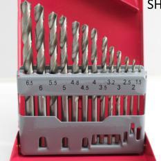 Bộ 13 mũi khoan sắt 1.5-6.5mm WEISITE thép không gỉ