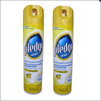 Bộ 2 bình xịt vệ sinh và đánh bóng đồ gỗ Pledge