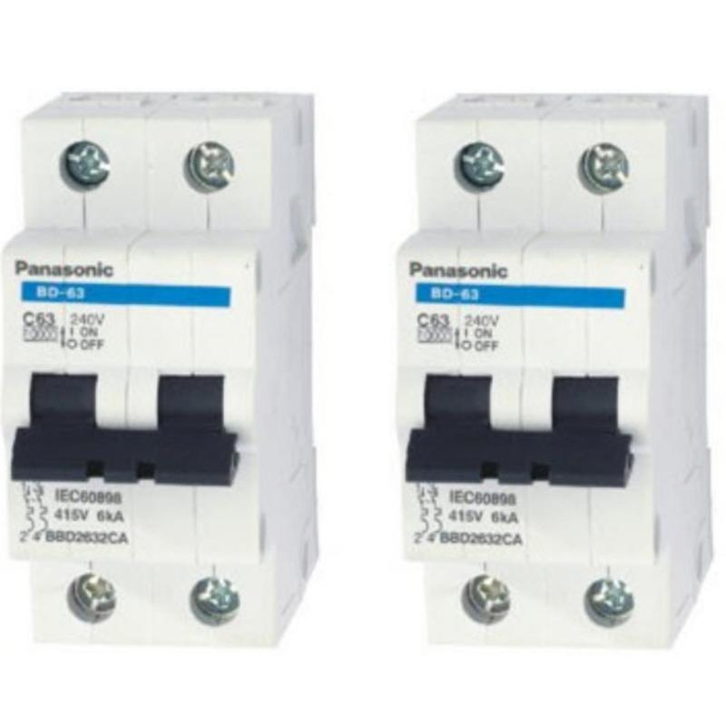 Bảng giá Mua Bộ 2 cầu dao tự động 2 pha BBD2322CNV Panasonic 32A