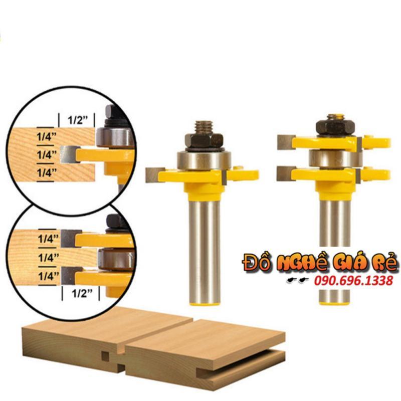 Bộ 2 dao ghép ván gỗ chất lượng cao