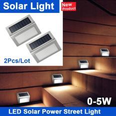 Đánh Giá Bộ 2 đèn năng lượng mặt trời gắn tường, chân cầu thang MTV02