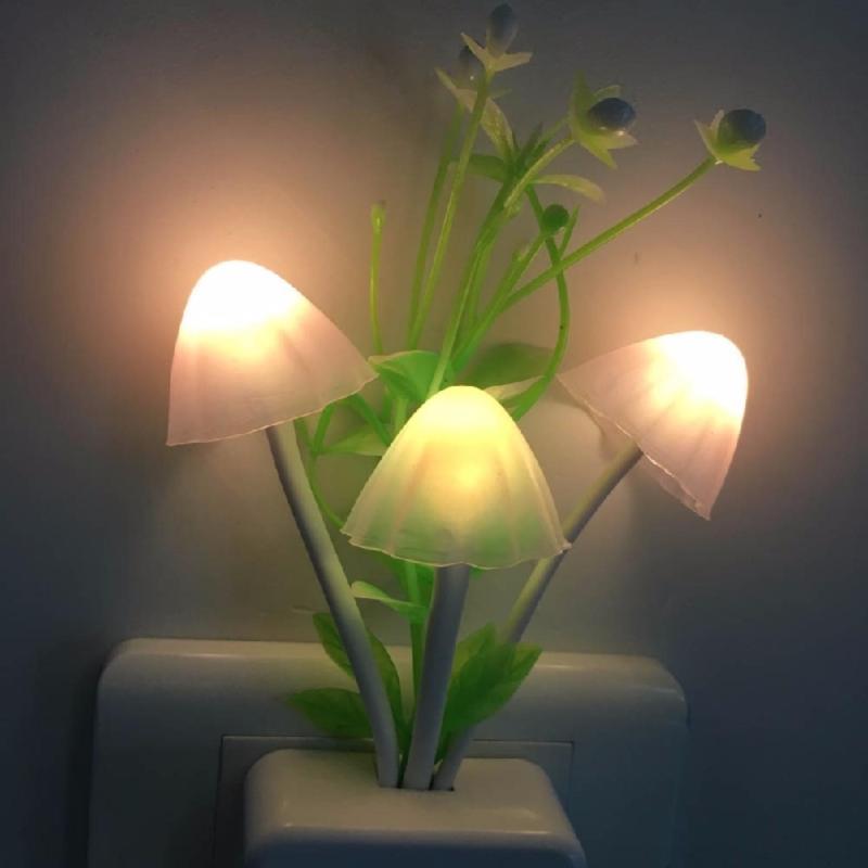Bảng giá Mua Bộ 2 Đèn ngủ cảm ứng tự sáng đèn khi trời tối - Siêu tiết kiệm điện