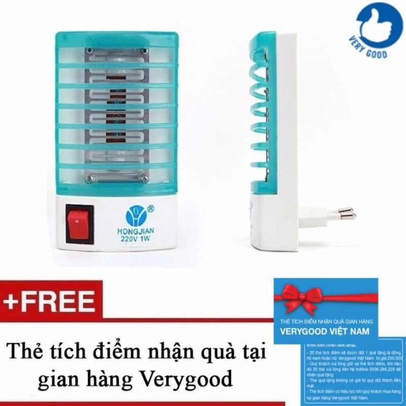 Bảng giá Bộ 2 đèn ngủ diệt muỗi + Tặng kèm 1 thẻ tích điểm nhận quà tại gian hàng Verygood