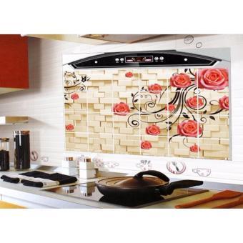 Bộ 2 giấy dán bếp cách nhiệt cỡ lớn 60*90cm( màu ngẫu nhiên)