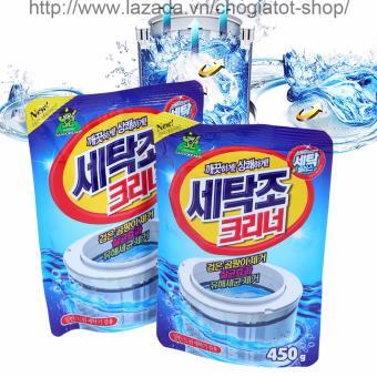 Bộ 2 gói bột vệ sinh tẩy lồng máy giặt Hàn Quốc 450Gr - 8095921 , CH702HLAA3MJ05VNAMZ-6441112 , 224_CH702HLAA3MJ05VNAMZ-6441112 , 140000 , Bo-2-goi-bot-ve-sinh-tay-long-may-giat-Han-Quoc-450Gr-224_CH702HLAA3MJ05VNAMZ-6441112 , lazada.vn , Bộ 2 gói bột vệ sinh tẩy lồng máy giặt Hàn Quốc 450Gr