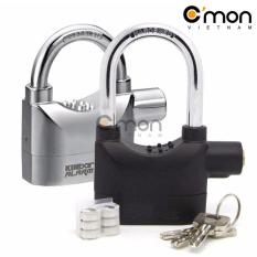 Bộ 2 khóa chống trộm thông minh Kinbar (đen và bạc)