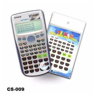 Bộ 2 stiker trang trí bàn phím máy tính (CS009)