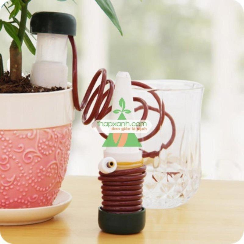 Mua Bộ 2 thiết bị Tưới nhỏ giọt tự động cho hoa, cây cảnh để bàn