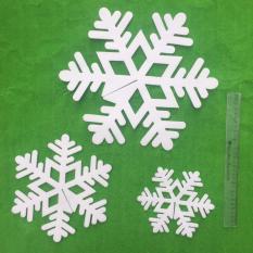 Báo Giá Bộ 3 bông tuyết đường kính 35cm, 25cm, 18cm trang trí giáng sinh  M&N Toys