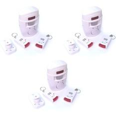 Bộ 3 chuông báo chống trộm hồng Ngoại Có Remote 7Gift Shop