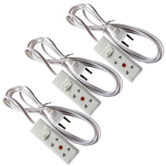 Bộ 3 ổ cắm điện mini 2 ổ cắm dây dài 2.5 mét Tiến thành