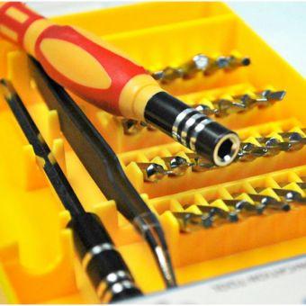 Bộ 32 món tua vít đa năng Jackly JK6066-B (Vàng)