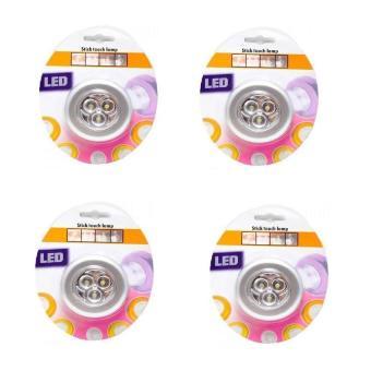 Bộ 4 đèn LED dán tường đa năng Ichibai Stick Touch Lamp (Trắng) - 8075130 , BR603HAAA0T573VNAMZ-1008869 , 224_BR603HAAA0T573VNAMZ-1008869 , 399000 , Bo-4-den-LED-dan-tuong-da-nang-Ichibai-Stick-Touch-Lamp-Trang-224_BR603HAAA0T573VNAMZ-1008869 , lazada.vn , Bộ 4 đèn LED dán tường đa năng Ichibai Stick Touch Lamp (Trắng)