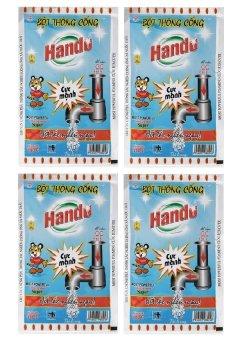 Bộ 4 gói bột thông cống 100g nội địa Hando GT011